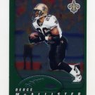 2002 Topps Chrome Football #094 Deuce McAllister - New Orleans Saints