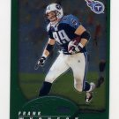 2002 Topps Chrome Football #079 Frank Wycheck - Tennessee Titans