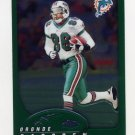 2002 Topps Chrome Football #043 Oronde Gadsden - Miami Dolphins