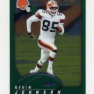 2002 Topps Chrome Football #038 Kevin Johnson - Cleveland Browns