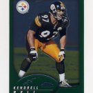 2002 Topps Chrome Football #023 Kendrell Bell - Pittsburgh Steelers