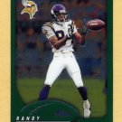 2002 Topps Chrome Football #017 Randy Moss - Minnesota Vikings