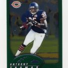 2002 Topps Chrome Football #001 Anthony Thomas - Chicago Bears