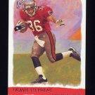 2002 Topps Gallery Football #178 Travis Stephens RC - Tampa Bay Buccaneers