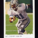 2002 Topps Gallery Football #145 Az-Zahir Hakim - Detroit Lions
