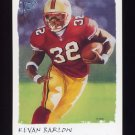 2002 Topps Gallery Football #128 Kevan Barlow - San Francisco 49ers