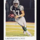 2002 Topps Gallery Football #126 Laveranues Coles - New York Jets