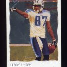 2002 Topps Gallery Football #106 Kevin Dyson - Tennessee Titans