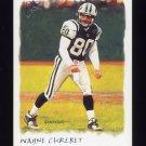2002 Topps Gallery Football #104 Wayne Chrebet - New York Jets