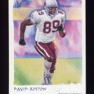 2002 Topps Gallery Football #093 David Boston - Arizona Cardinals