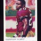 2002 Topps Gallery Football #081 Garrison Hearst - San Francisco 49ers