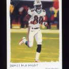2002 Topps Gallery Football #061 James McKnight - Miami Dolphins