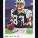 2002 Topps Gallery Football #035 Santana Moss - New York Jets