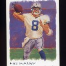 2002 Topps Gallery Football #020 Mike McMahon - Detroit Lions