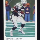 2002 Topps Gallery Football #005 Curtis Martin - New York Jets