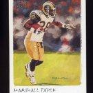 2002 Topps Gallery Football #001 Marshall Faulk - St. Louis Rams