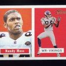 2002 Topps Heritage Football #006 Randy Moss - Minnesota Vikings