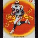2002 Topps Pristine Gold Refractors Insert #029 Corey Dillon - Cincinnati Bengals 05/79