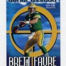 1999 Fleer Tradition Football Aerial Assault #07 Brett Favre - Green Bay Packers