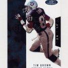 2003 Hot Prospects Football #040 Tim Brown - Oakland Raiders