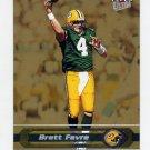 2002 Ultra Gold Medallion Insert #078 Brett Favre - Green Bay Packers