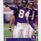 2002 Upper Deck Football #180 Randy Moss CL - Minnesota Vikings