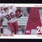 2002 UD Authentics All-Star Authentics Game-Used Jersey #AATJ Thomas Jones - Arizona Cardinals