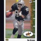 2002 UD Authentics Football #142 Tim Brown - Oakland Raiders 1037/1989