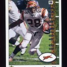 2002 UD Authentics Football #017 Corey Dillon - Cincinnati Bengals