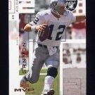 2002 Upper Deck MVP Football #175 Rich Gannon - Oakland Raiders