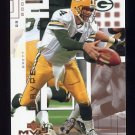 2002 Upper Deck MVP Football #088 Brett Favre - Green Bay Packers
