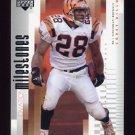2002 Upper Deck Ovation Football Milestones #OM6 Corey Dillon - Cincinnati Bengals