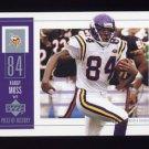 2002 UD Piece Of History Football #055 Randy Moss - Minnesota Vikings