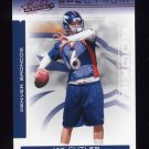 2006 Absolute Memorabilia Spectrum Red #214 Jay Cutler RC - Denver Broncos