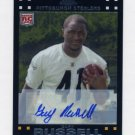 2007 Topps Chrome Rookie Autographs Insert #TC196 - Gary Russell - Pittsburgh Steelers