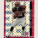 2007 Finest Football Xfractor SP Insert #115 Kenny Irons RC - Cincinnati Bengals /25