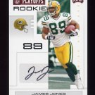 2007 Playoff NFL Playoffs Signatures Red #164 James Jones - Green Bay Packers 045/100