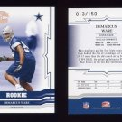 2005 Throwback Threads Bronze Holofoil #152 Demarcus Ware RC - Dallas Cowboys 013/150