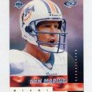 1999 Collector's Edge Fury Previews Insert #DM Dan Marino - Miami Dolphins
