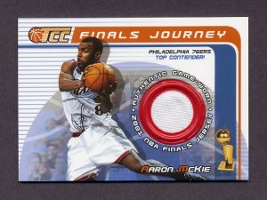 2001-02 Topps TCC Basketball Finals Journey #FJ-AM Aaron McKie - Philadelphia 76ers Game-Used Jersey