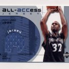 2002-03 Upper Deck All-ACCess Jerseys #AJS Joe Smith - Timberwolves Game-Used