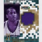2001-02 Upper Deck Playmakers PC Warm Up Gold #JAGW Jamaal Magloire - Hornets Game-Used /250