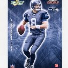 2008 Score Football Player Decals Insert #09 Matt Hasselbeck - Seattle Seahawks