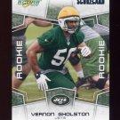 2008 Score Football ScoreCard Rookie Parallel Insert #336 Vernon Gholston - New York Jets 272/649