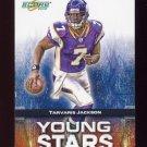 2008 Score Football Young Stars Insert #17 Tarvaris Jackson - Minnesota Vikings