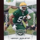 2008 Score Football Card #336 Vernon Gholston RC - New York Jets