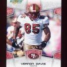 2008 Score Football Card #273 Vernon Davis - San Francisco 49ers
