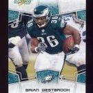 2008 Score Football Card #240 Brian Westbrook - Philadelphia Eagles