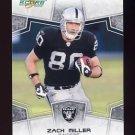 2008 Score Football Card #233 Zach Miller - Oakland Raiders