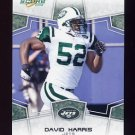 2008 Score Football Card #225 David Harris - New York Jets